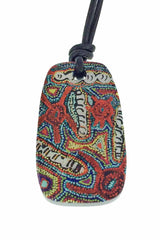 IR911004 Iron Ore Tablet - Aboriginal Art