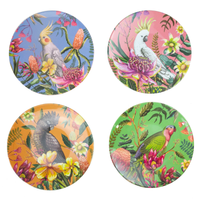 Plate Set Floral Paradiso