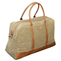 FIB WAXED CANVAS DUFFEL BAG