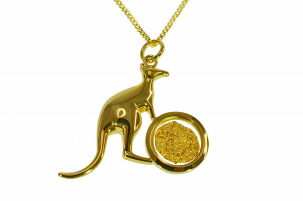 GP250113 Gold Pendant - Gifts At The Quay