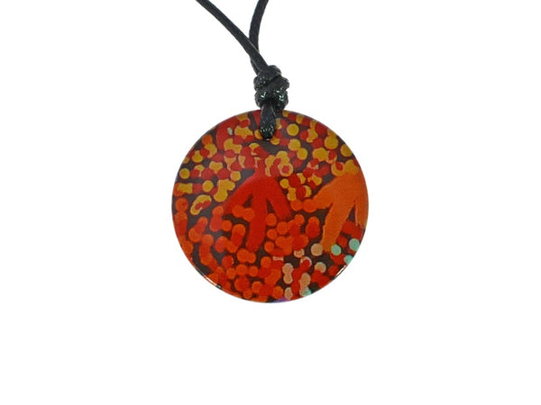 IR911012 Iron Ore Round - Aboriginal Art - Gifts At The Quay