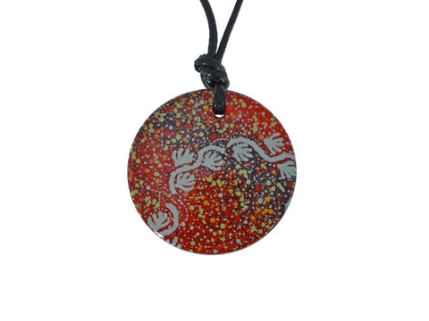 IR911013 Iron Ore Round - Aboriginal Art