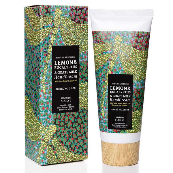 Lemon & Eucalyptus Hand Cream - Gifts At The Quay