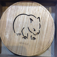 Round animal coasters - Gifts At The Quay