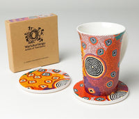 RUTH STEWART CERAMIC COASTERS - Gifts At The Quay