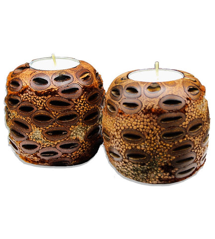 Banksia Candle Holder
