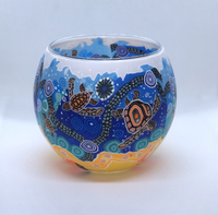 Tealight Holder Chernee Turtle 11CM - Gifts At The Quay