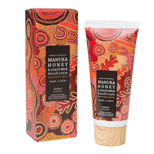 Manuka Honey & Goats Milk Hand Cream - Gifts At The Quay