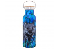 WATER BOTTLE STAINLESS STEEL - ANNA BLATMAN WOMBAT