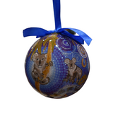 Aboriginal Art Christmas Ball Boxed