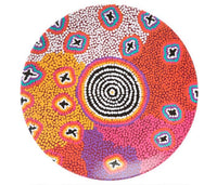 RUTH STEWART MELAMINE PLATES (X4) - Gifts At The Quay