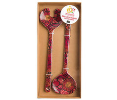 TEDDY GIBSON SALAD SERVERS