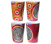RUTH STEWART MELAMINE TUMBLERS (CUPS) (X4) - Gifts At The Quay