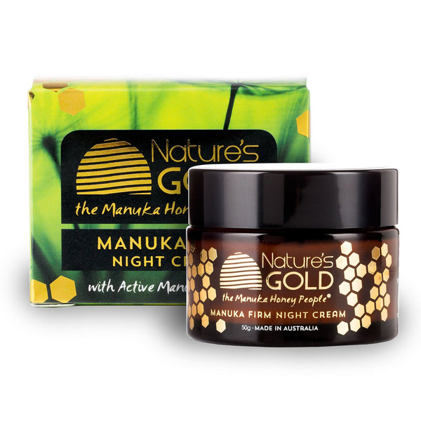 Manuka Firm Night Cream - Gifts At The Quay