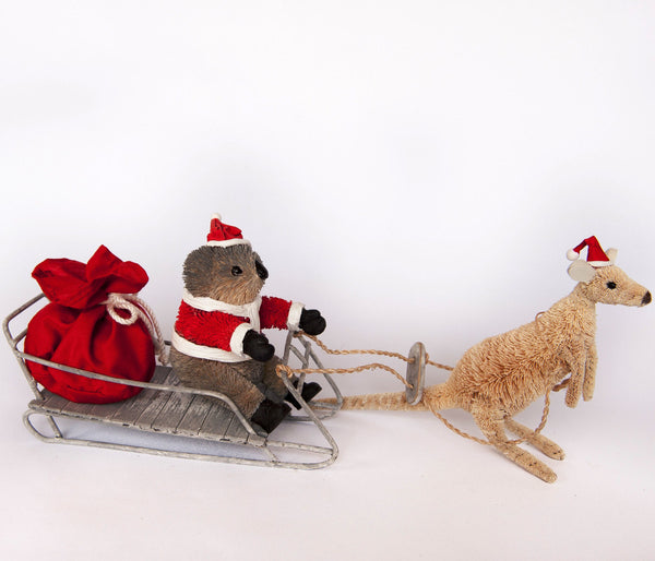 Koala Santa Sleigh - Single Set - Gifts At The Quay