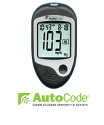 AutoCode® – No Code Talking Glucometer