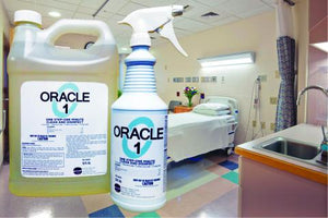 Oracle 1 - One Step, One Minute - Medical Grade Disinfectant