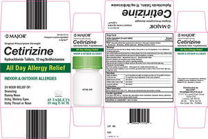 Major - Cetirizine - 10mg