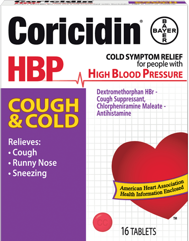 Coricidin HBP - Cough & Cold