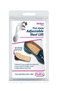 Peel-Away™ Adjustable Heel Lift