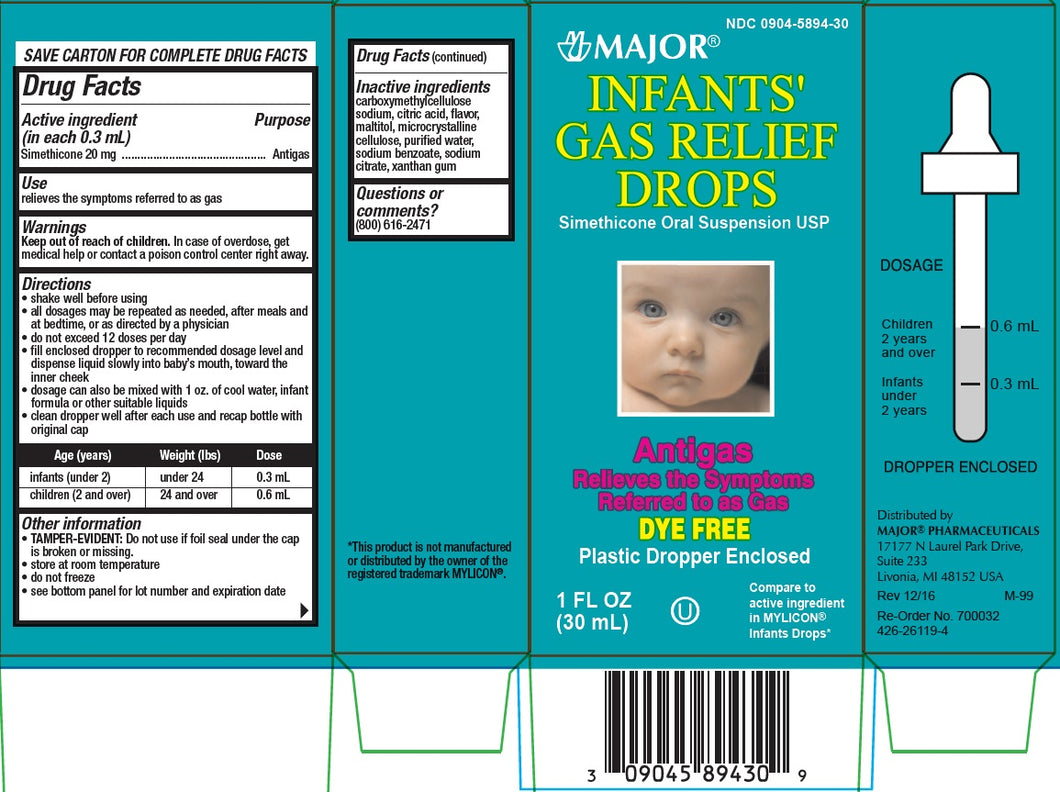 Infants' Gas Relief Drops