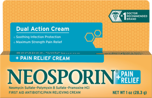 Neosporin® + Pain Relief Cream