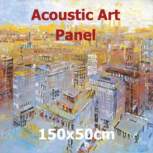 Acoustic Art Panel, Sized 150by50cm