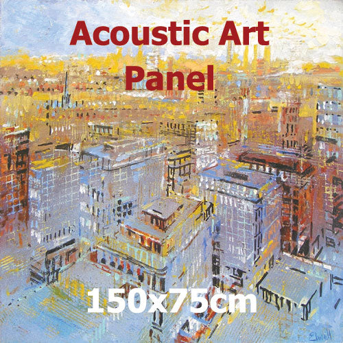 Acoustic Art Panel, Sized 150by75cm