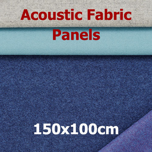 Acoustic Fabric Panel, Sized 150by100cm