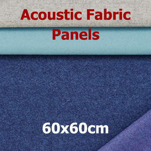 Acoustic Fabric Panel, Sized 60by60cm
