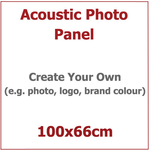 Acoustic Photo Panel, Sized 100by66cm