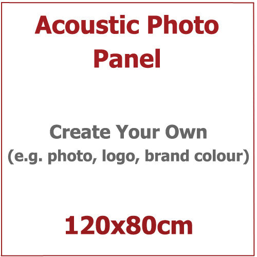 Acoustic Photo Panel, Sized 120by80cm