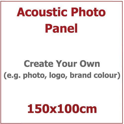 Acoustic Photo Panel, Sized 150by100cm
