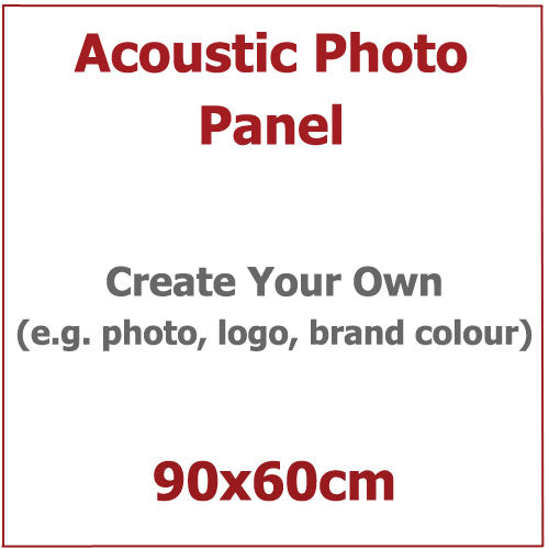 Acoustic Photo Panel, Sized 90by60cm