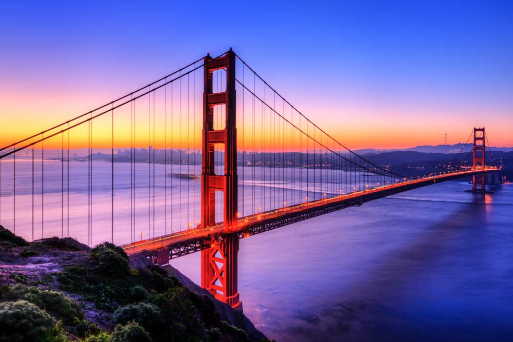 Bridges of the World - The Golden Gate Bridge, San Francisco, USA (#AA_BOTW_11)