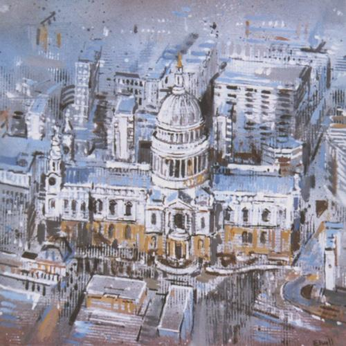 Urban Reflections - St Pauls Cathedral (#AA_ELWELL_B_1004)