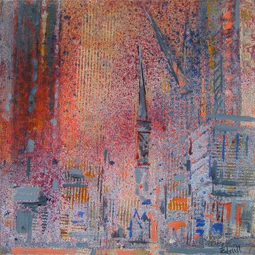 Urban Reflections - Orange Canary (#AA_ELWELL_B_2003)
