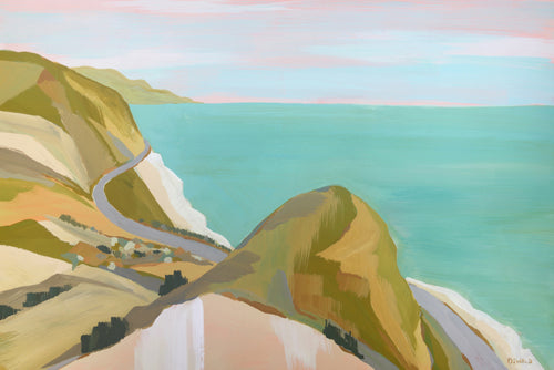 Pacific Abstract - Big Sycamore Canyon (#PACIFICA_01)