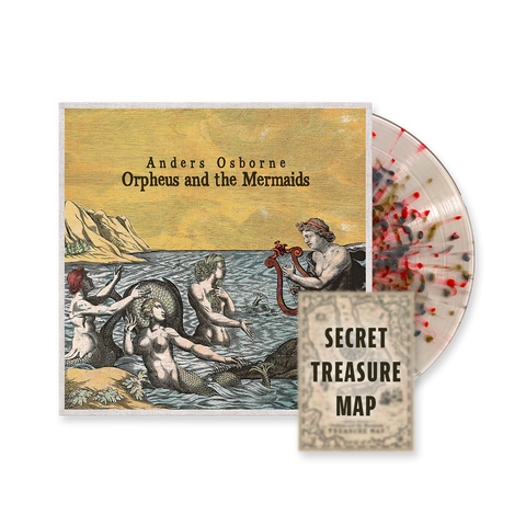 """Orpheus and the Mermaids"" Colored Vinyl w/ Treasure Map Poster"