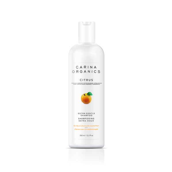 Extra Gentle Shampoo for Dry or chemically treated Hair- Citrus
