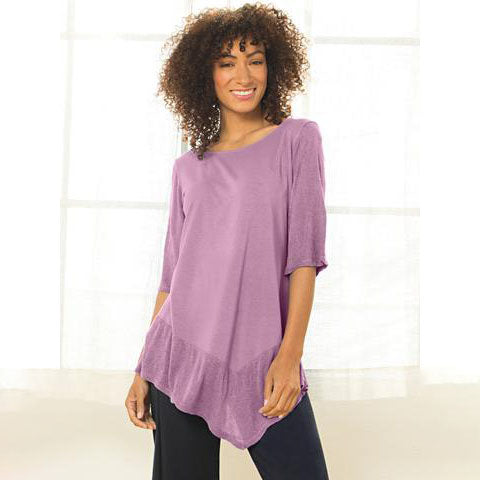 Lucy Asymmetrical Top