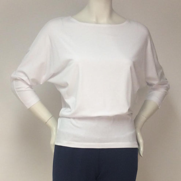 TOC Jersey Boat neck Dolman Top