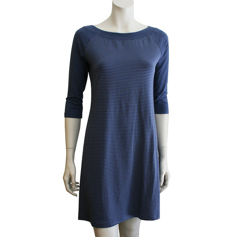 OCOBA 2 tone Raglan 3/4 Sleeve Tunic / Dress
