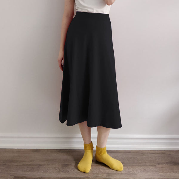 TOC Jersey Midi A-line Skirt