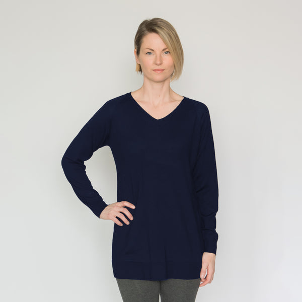 Eco Wool V-neck Sweater