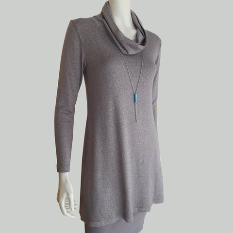 TEMO Sweater Cowl Tunic/Dress