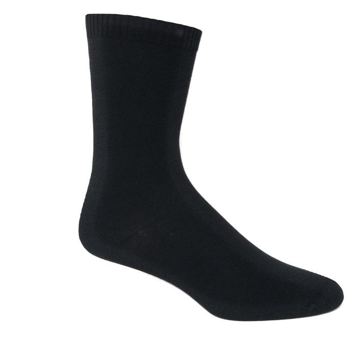 Unisex 3pk Bamboo Crew Socks - Medium