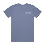 PORTAL TOUR CLEAR BLUE T-SHIRT
