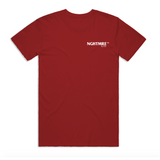 PORTAL TOUR DARK RED T-SHIRT