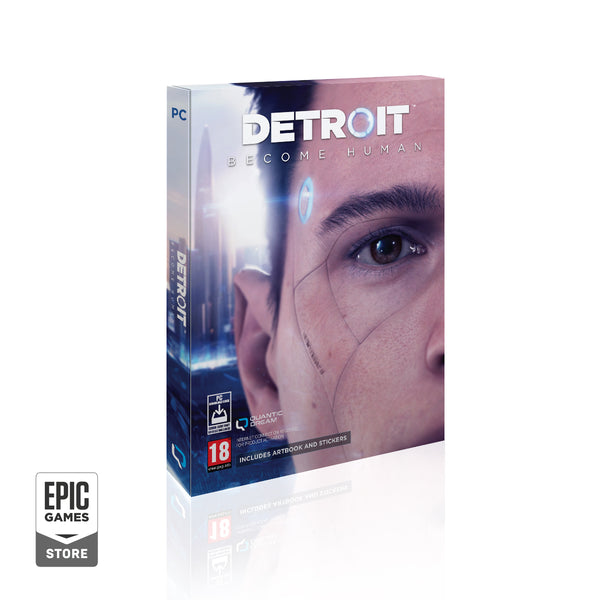 DETROIT: BECOME HUMAN - PC version physique avec une clef Epic Game Store